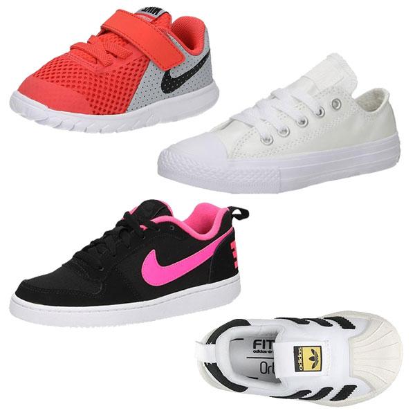 50+ Kids sneakers - adidas / Nike / Converse / Puma - €14,99 - €19,99 @ Sooco