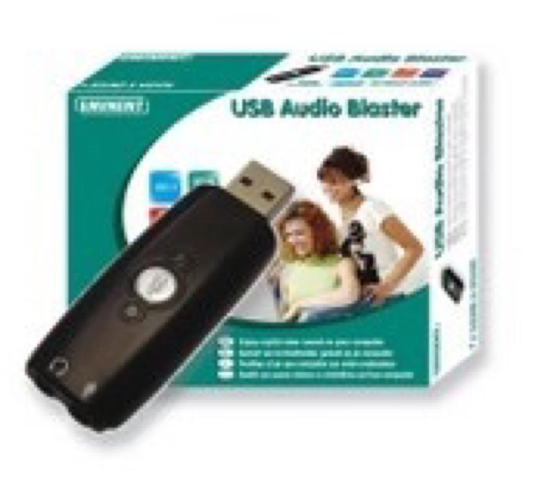 EMINENT EM3751 USB AUDIO BLASTER (externe geluidskaart)