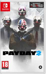 Payday 2 (Switch) voor €32,95 @ Coolshop (pre-order)