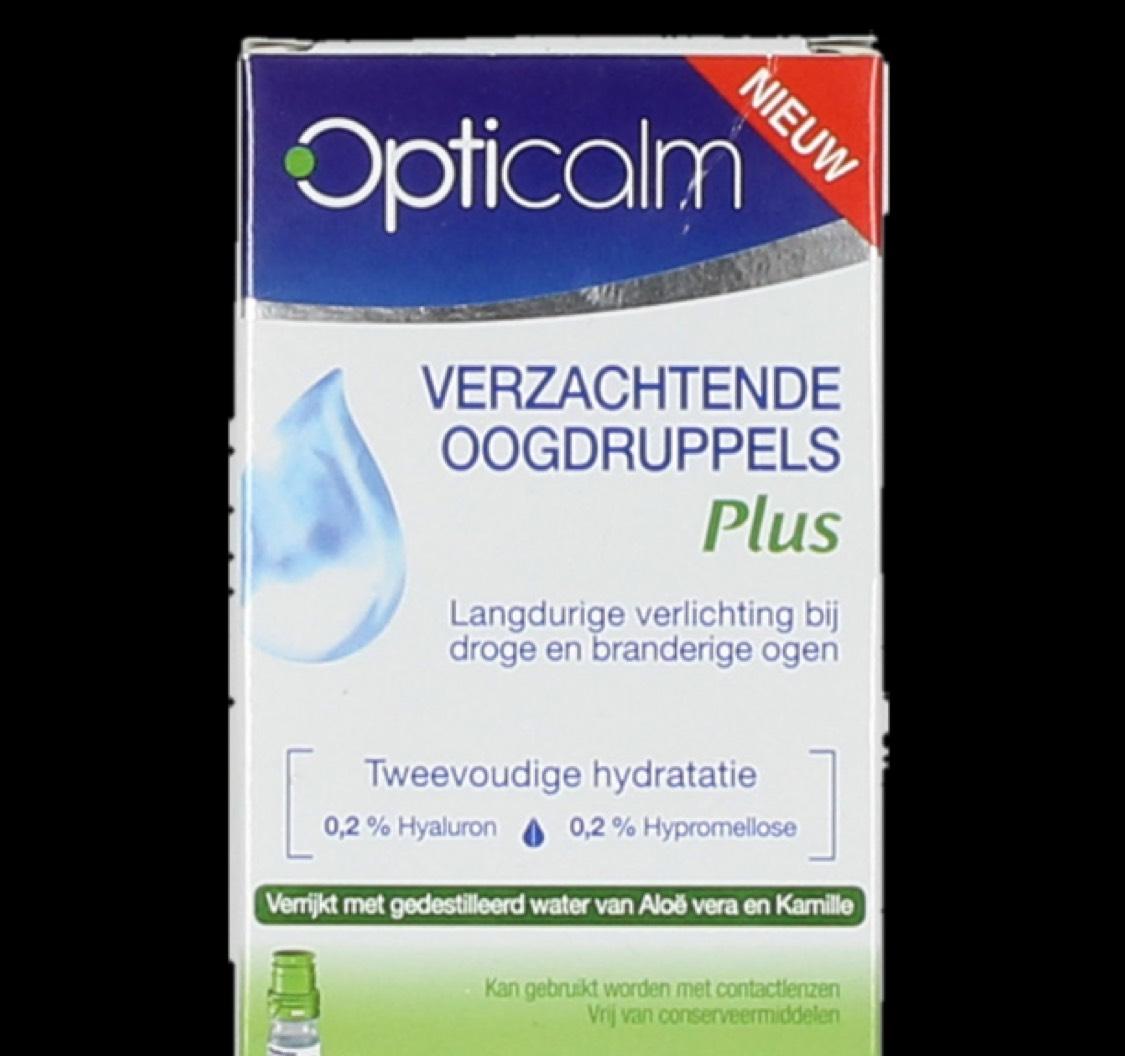 Opticalm Oogdruppels Druppelflacon of ampullen 10stuks