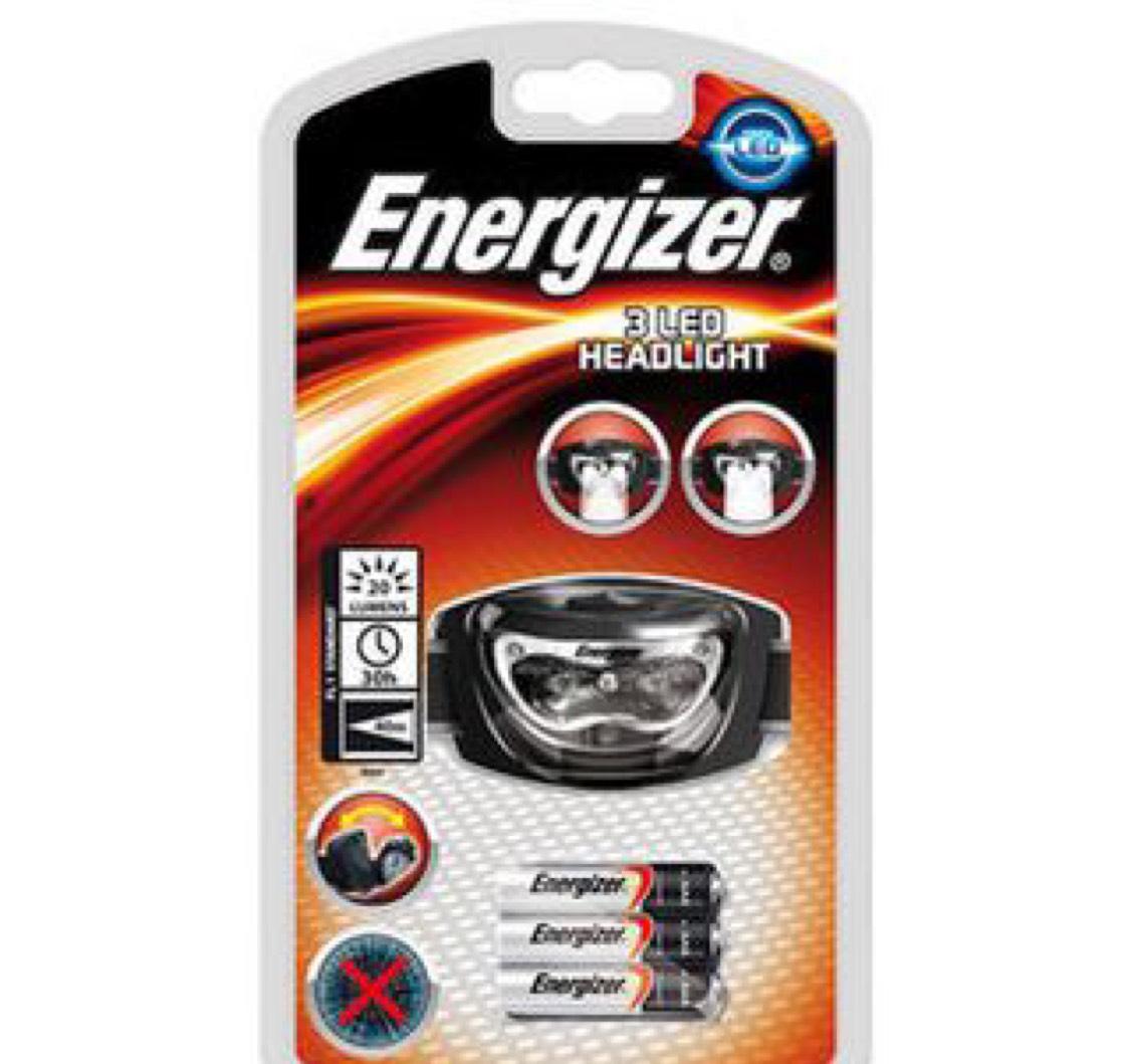 Energizer LED Hoofdlamp, inclusief 3x AAA batterijen