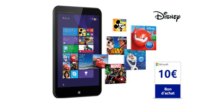 HP Stream 7 Signature Edition + € 10 cadeaubon voor €79 @ Microsoftstore Frankrijk
