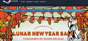 Steam lunar new year's sale, nu gestart