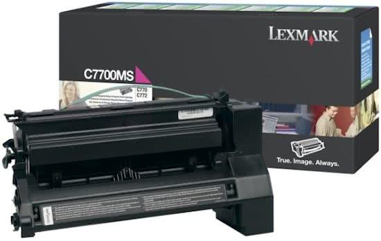prijsfoutje Belgie  Lexmark Magenta Retourprogramma Printcartridge Voor C770/C772