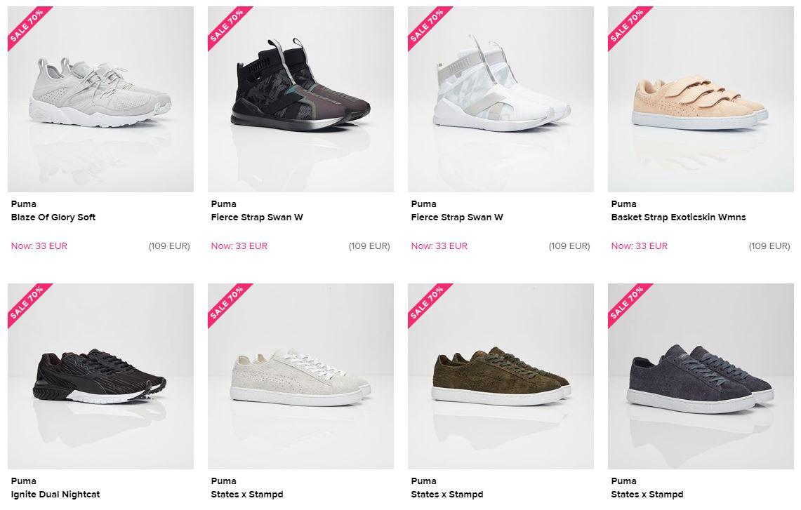 Veel sneakers 70% korting @ Sneakersnstuff