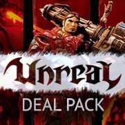 Unreal Deal Pack voor €4 @Gamersgate (Steam)