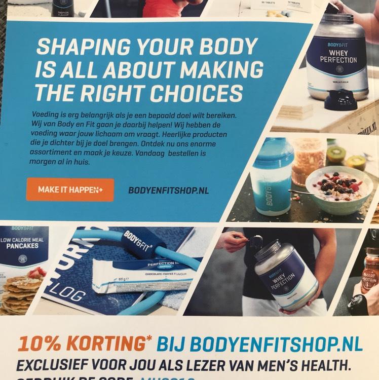 10% Korting Bodyenfitshop