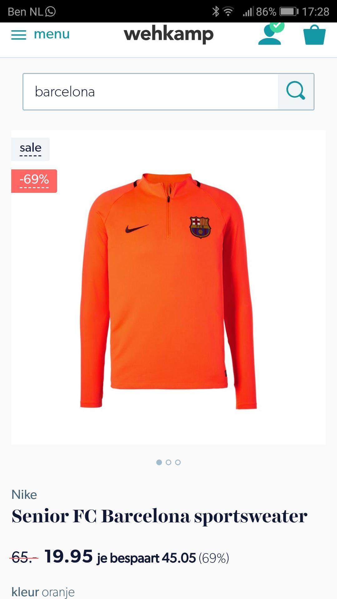 F.c Barcelona sweater