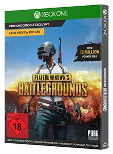 PlayerUnknown's Battlegrounds Xbox One (code in a box) - €14,96 @ Amazon DE