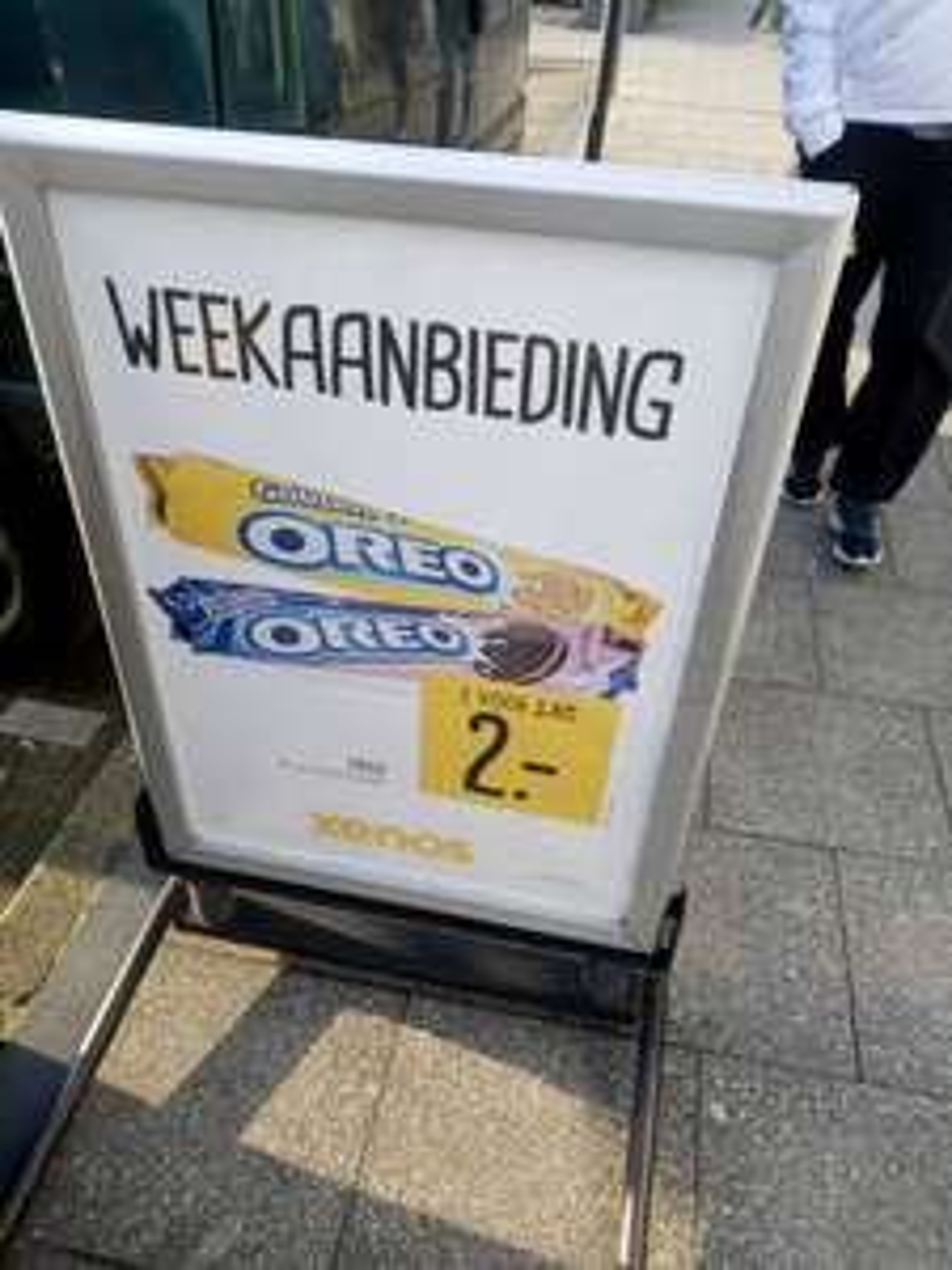 2x Oreo (2x154gram) voor €2 @Xenos