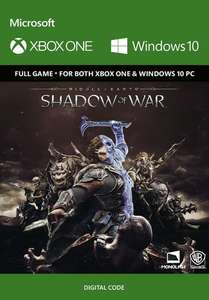 Middle-Earth: Shadow of War (Xbox One / PC download) voor €22,51 @cdkeys