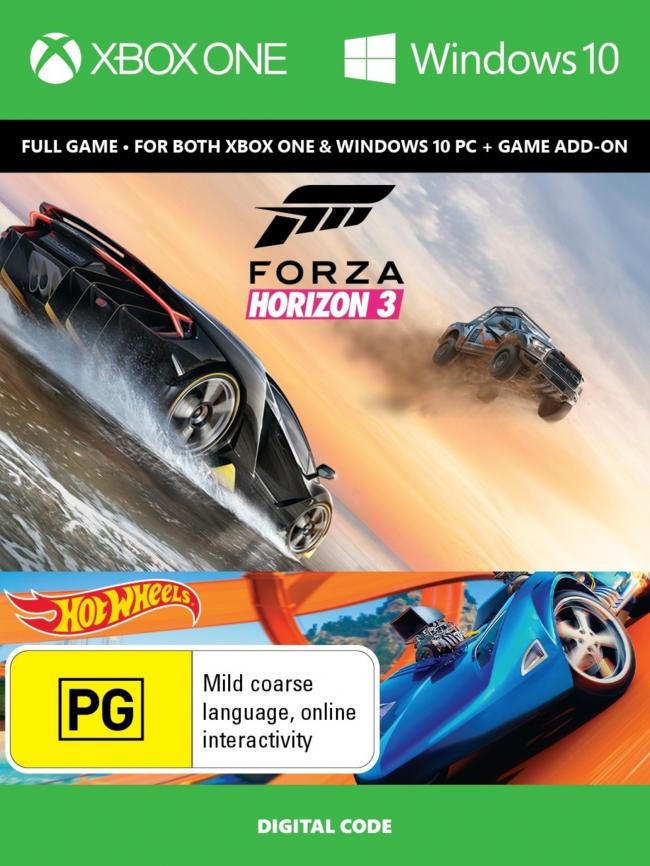 Forza Horizon 3 + Hot Wheels Xbox One/PC Digital Code (+Assassin's Creed Unity) voor €19,46 @ CDkeys