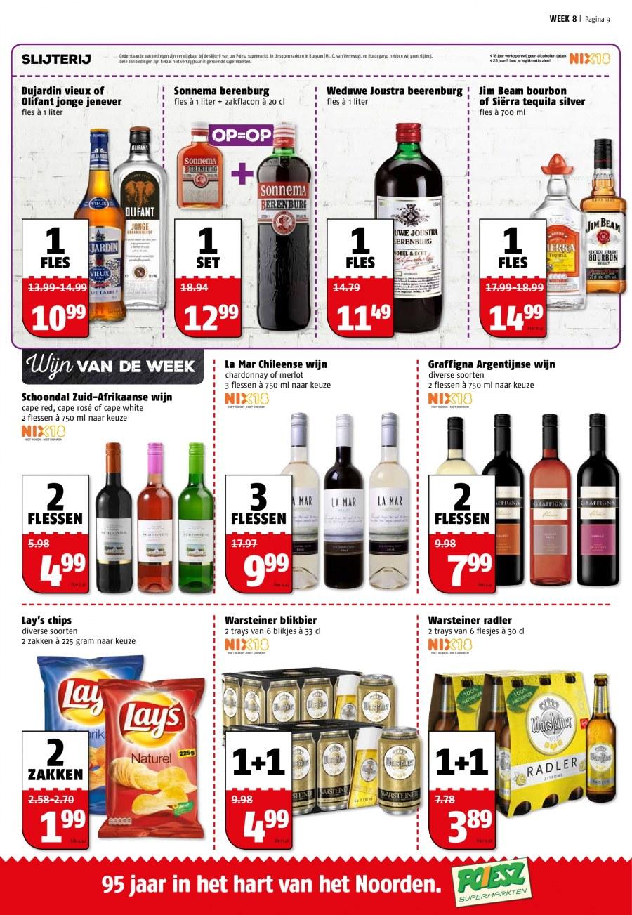 Warsteiner 1+1 (2,49 per sixpack) Poiesz supermarkt