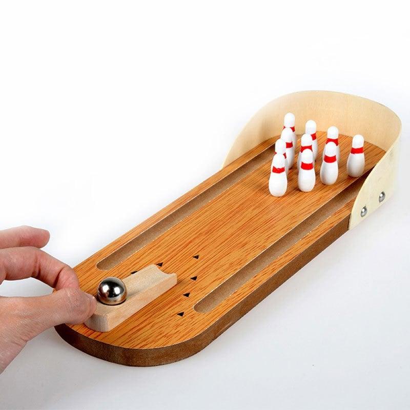 Mini Desktop Bowling voor €2,29 na code @ Gamiss