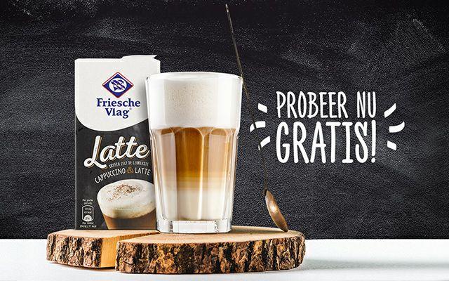 Probeer gratis Friesche Vlag Latte opschuimmelk 500ml