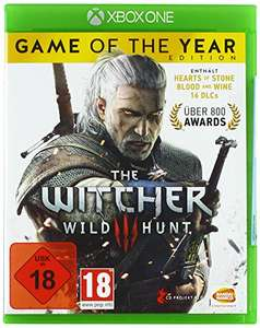 The Witcher 3: Wild Hunt - Game of the Year Edition (PS4/Xbox One) voor €14,99 @ Amazon.de