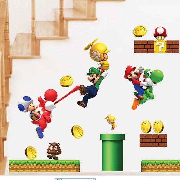 Wandsticker Super Mario @ DressLily