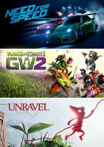 EA Family Bundle: Need for Speed (2015), Plants vs. Zombies Garden Warfare 2 en Unravel @ Origin