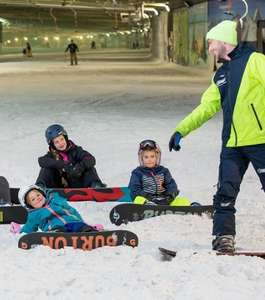 SnowWorld 1+1 persoon gratis @ Hema Tickets