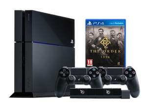 PlayStation 4 + The Order 1886 + 2 controllers + camera voor €449,- @ Media Markt