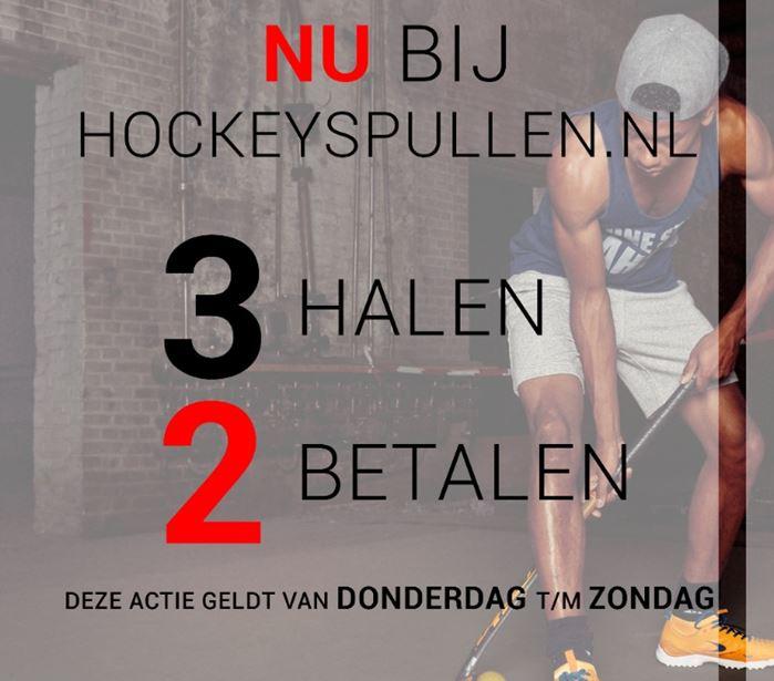3 halen = 2 betalen (ook op sale) @ Hockeyspullen.nl