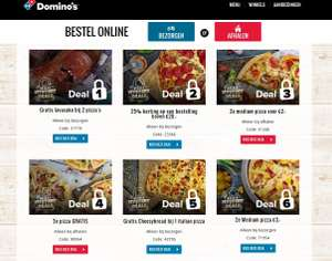Domino's Mystery deals