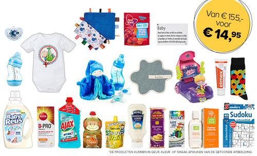 Baby voordeelpakket twv 155 euro