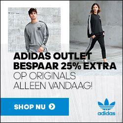 Vandaag 25% extra korting op Originals @ adidas
