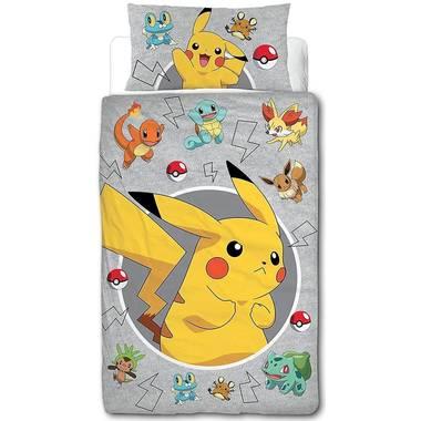 Pokemon catch dekbedovertrek 140 x 200 cm @Blokker