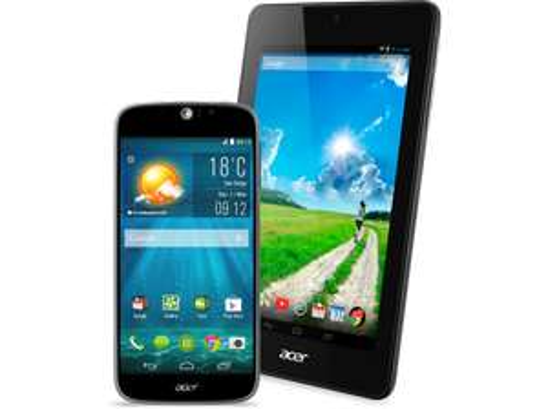 "ACER Liquid Jade S + Iconia B1-730 HD 7"" voor € 263,25 @ Media Markt"