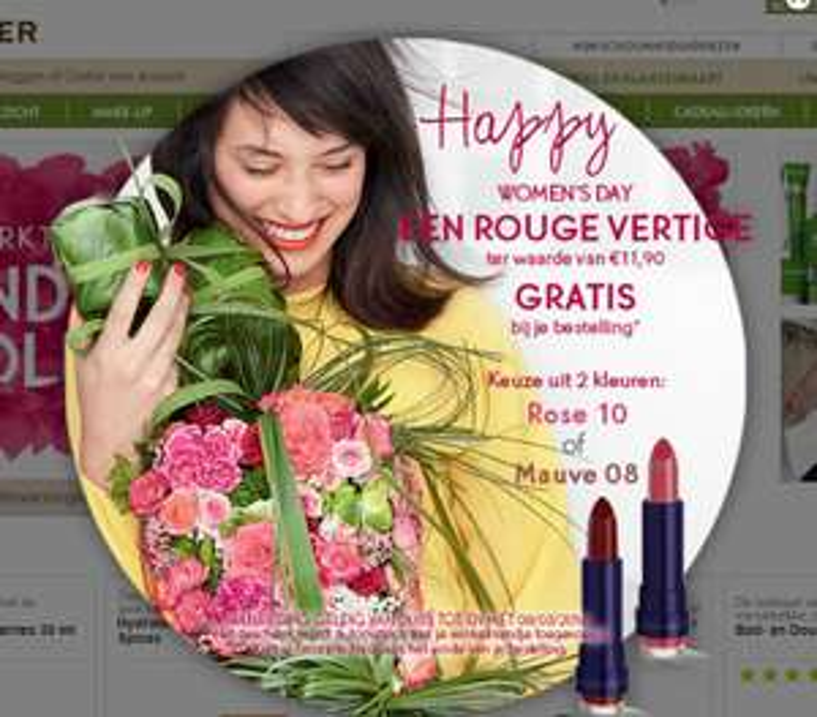 Alles -50% / sale va €1 / gratis lipstick t.w.v. €11,90 / €5 extra korting (va €25) @ Yves Rocher