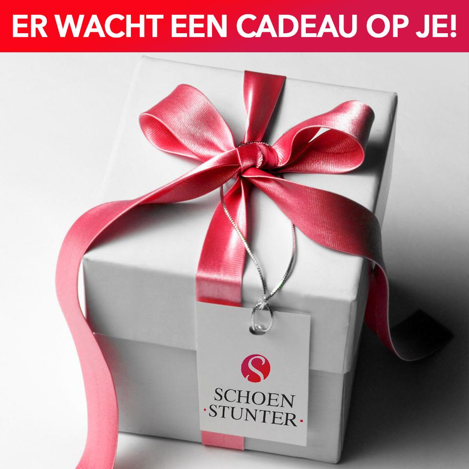 Gratis cadeautje bij schoenstunter.nl