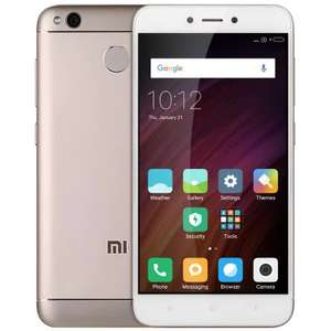 Xiaomi Redmi 4X 4G Smartphone   -  INTERNATIONAL VERSION 2GB RAM 16GB ROM  CHAMPAGNE GOLD