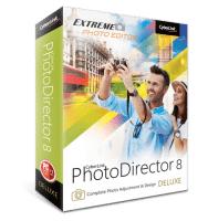 CyberLink PhotoDirector 8 Deluxe Gratis