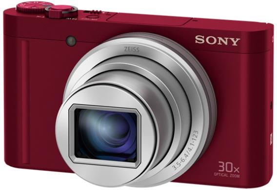 Sony CyberShot DSC-WX500 rood voor €219 @ Coolblue