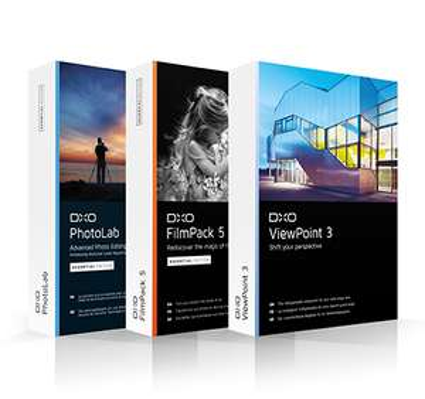 DxO Software (PhotoLab, FilmPack 5 en ViewPoint 3)