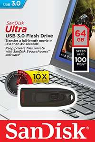 SanDisk 64Gb Usb 3.0 ( 16Gb voor 6Euro) Prime