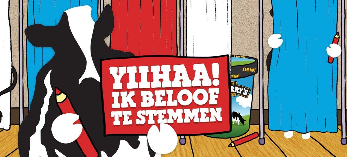 GRATIS koe-le Ben & Jerry's kaartje