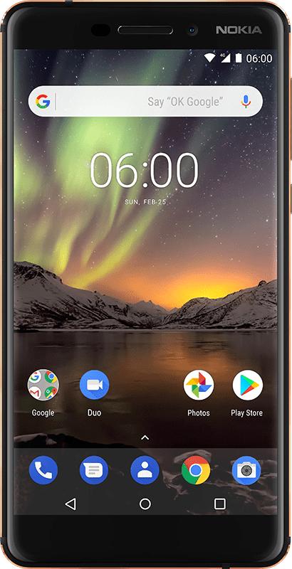 Pre-order de Nokia 6.1 en ontvang gratis Google Chromecast @ Belsimpel.nl