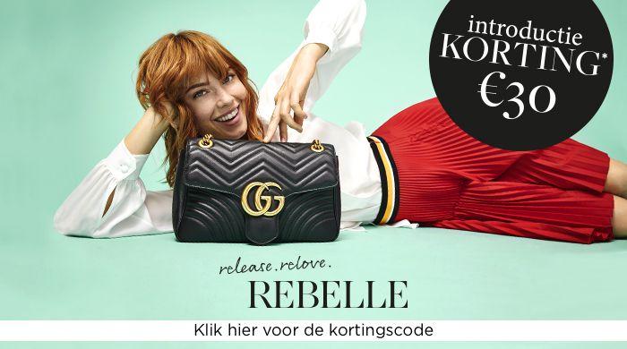 Rebelle.com €30 korting bij besteding van €100