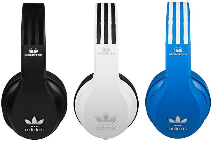 Monster Adidas Hoofdtelefoon (zwart, wit, blauw) voor €99,- @ Media Markt