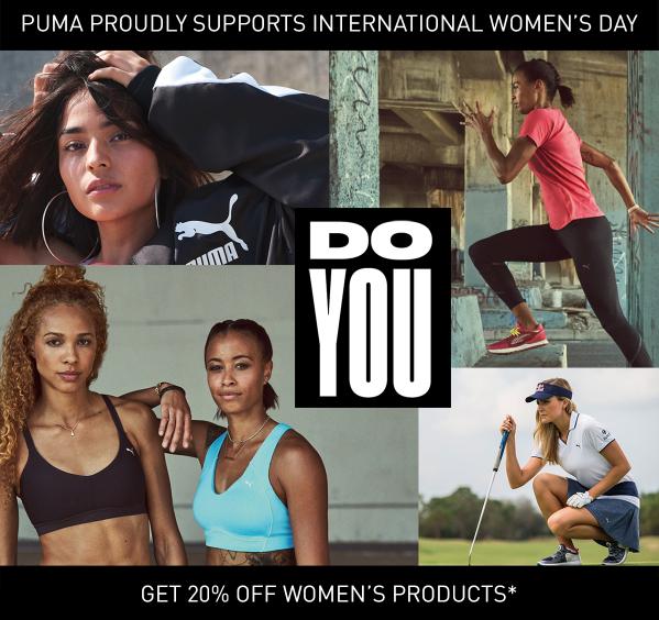 20% Korting op alle Dames producten @ Puma
