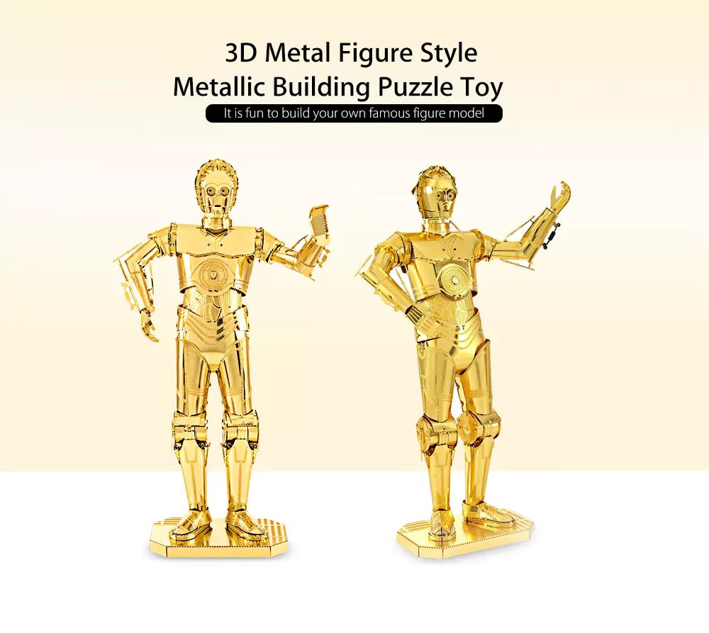 C-3PO Star Wars 3D Puzzel voor  €2,98 na code @ Dresslily