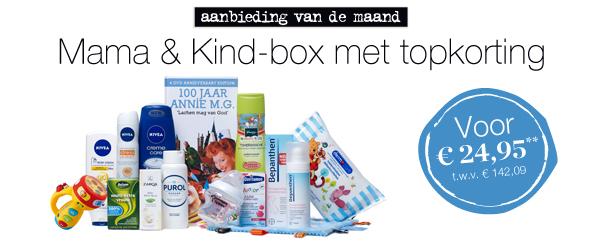 Mama & Kind-box voor €29,90 @ Ouders Van Nu