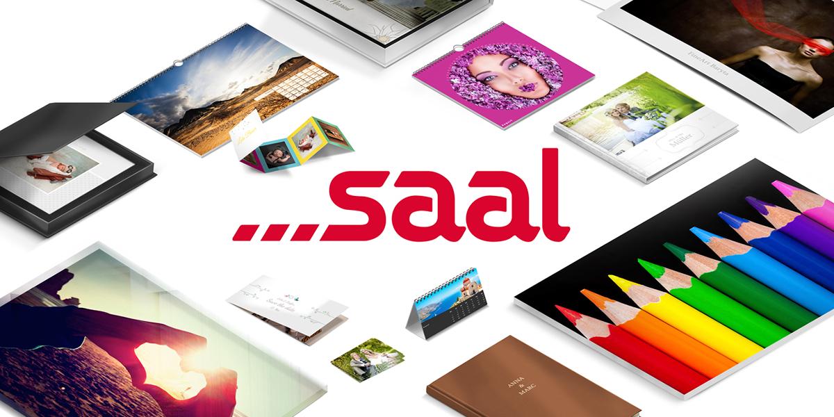 Gratis fotoboek, wanddecoratie of spiraal fotoalbum bij Saal Digital