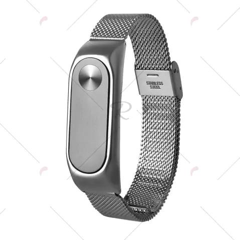 Stainless Steel armband voor Xiaomi Mi Band 2 voor €2,41 @ Rosegal