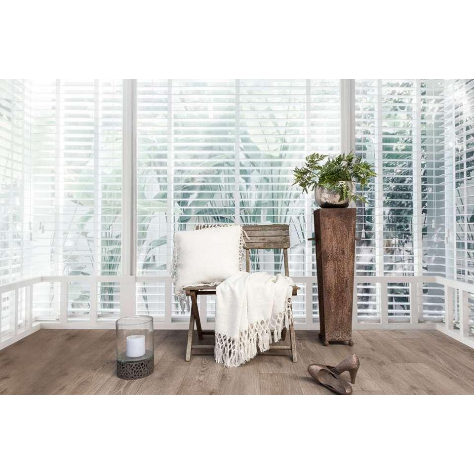 [prijsfout] Heckett & Lane plaid Danic - 150x220 cm - polyester- gebroken wit