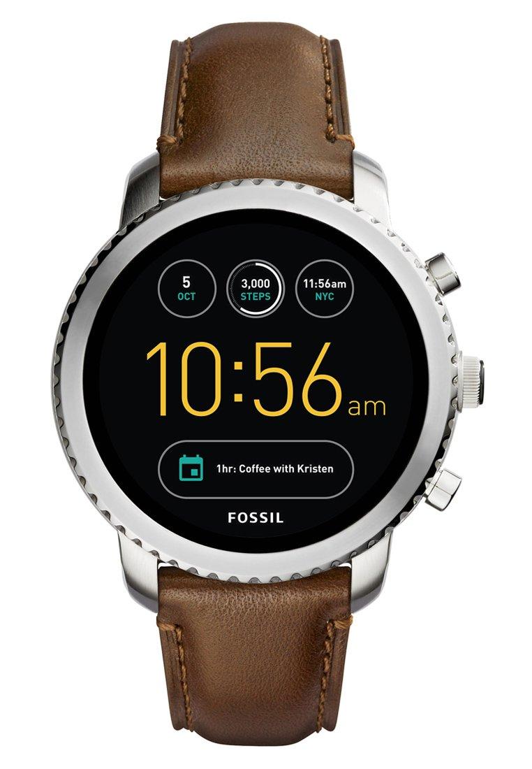 Fossil Q Explorist FTW4003 Zilver Smartwatch @ Zalando