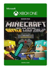 Minecraft: Battle Map Pack Season Pass Card voor €2,25 @ ShopTo