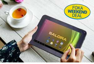 Weekend Deal: Salora Android tablet - €49,99 @ Fokasuperstore